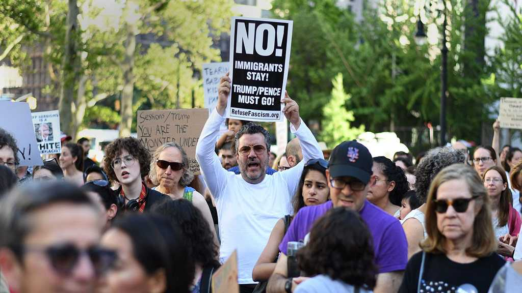 Americans Protest Against Trump's Treatment of Migrants