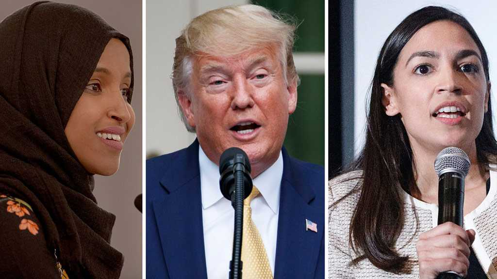 Trump Slammed for Racist Attack on Congresswomen