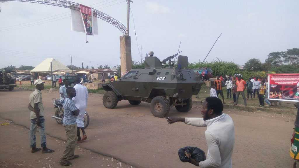 Nigeria Crackdown: Army Opens Fire on Sheikh Zakzaky's Supporters, At Least One Martyred