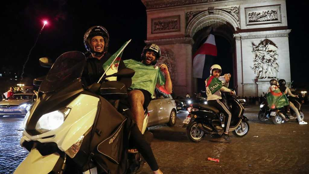 Paris Police Used Tear Gas against Algerian Football Fans
