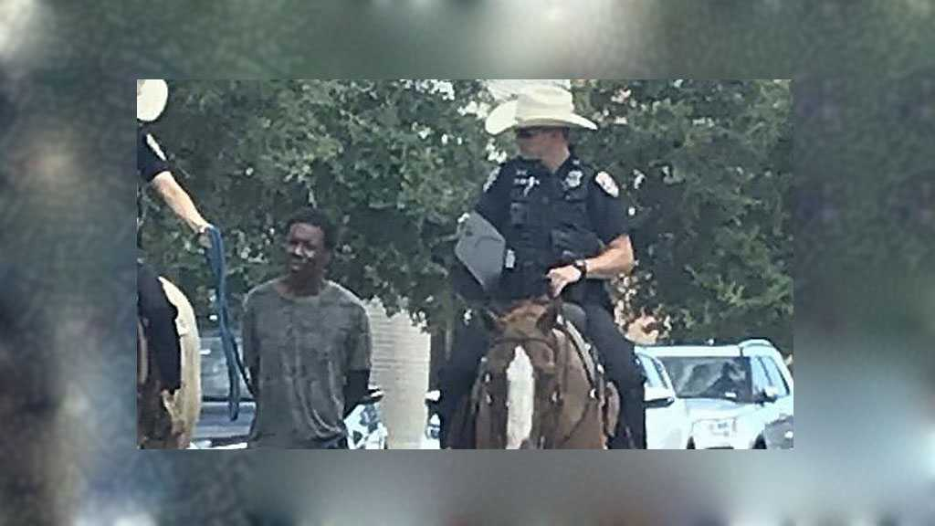 Racism to the Maximum: Outrage in US after Photo Showing Police Leading Black Man by a Rope Goes Viral