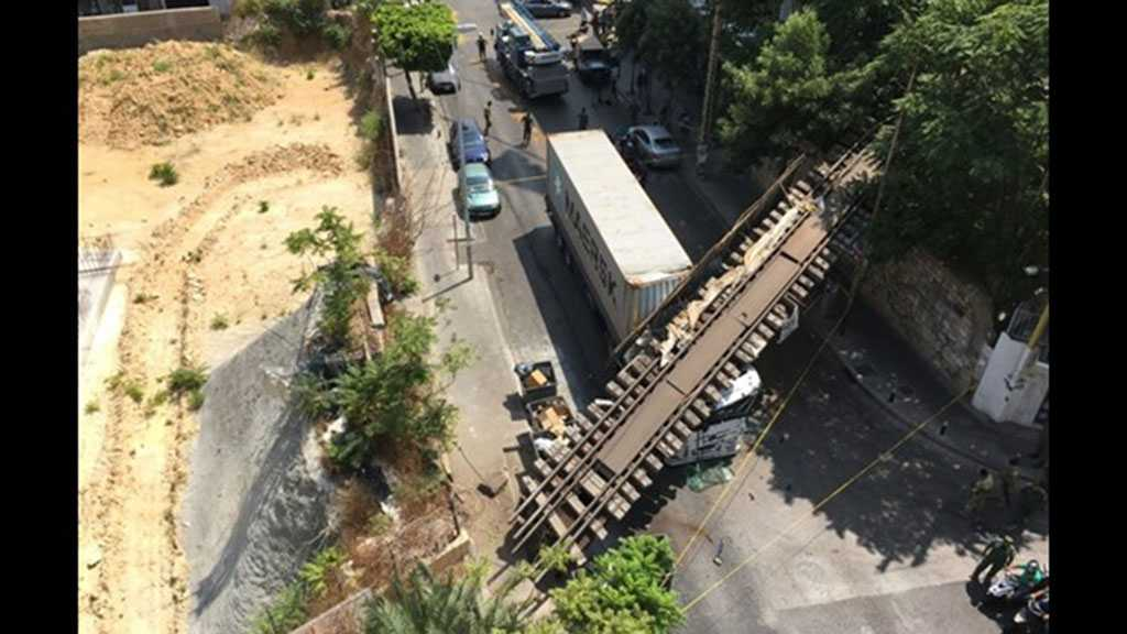 Old Lebanese Railway Bridge Collapses, No Injuries