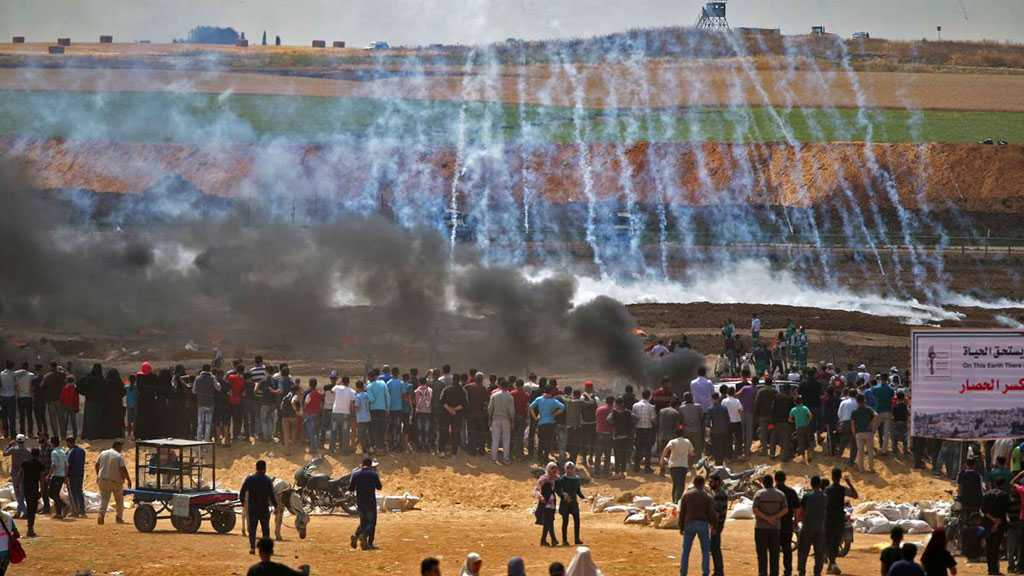 Great Return Protests: 'Israeli' Forces Injure More Than 75 Palestinians along Gaza Border