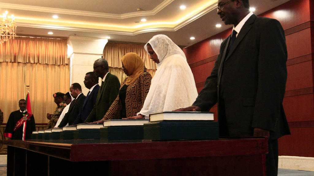 Sudan's First Cabinet since Bashir Ouster Sworn In