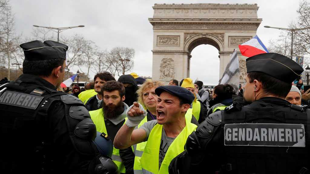 Over 100 Arrested In Paris 'Yellow Vest' Protests