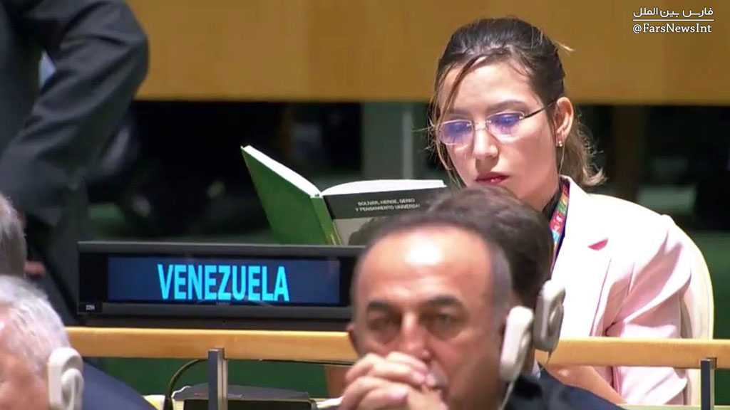 Couldn't Care Less! Venezuela's Representative at the UNGA Reads a Book during Trump's Speech