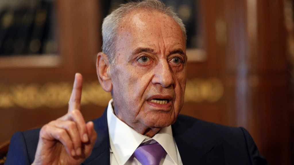 Berri: Lebanon is A Sinking Ship, New Gov't must Be Formed