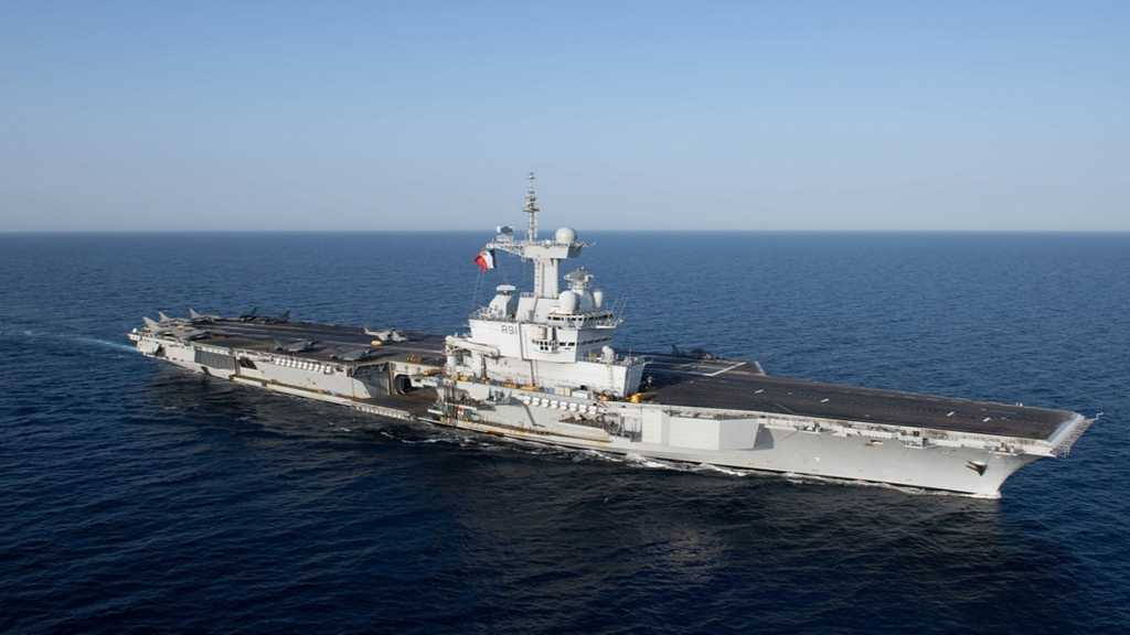 France Will Deploy Aircraft Carrier to the Middle East, Macron Says