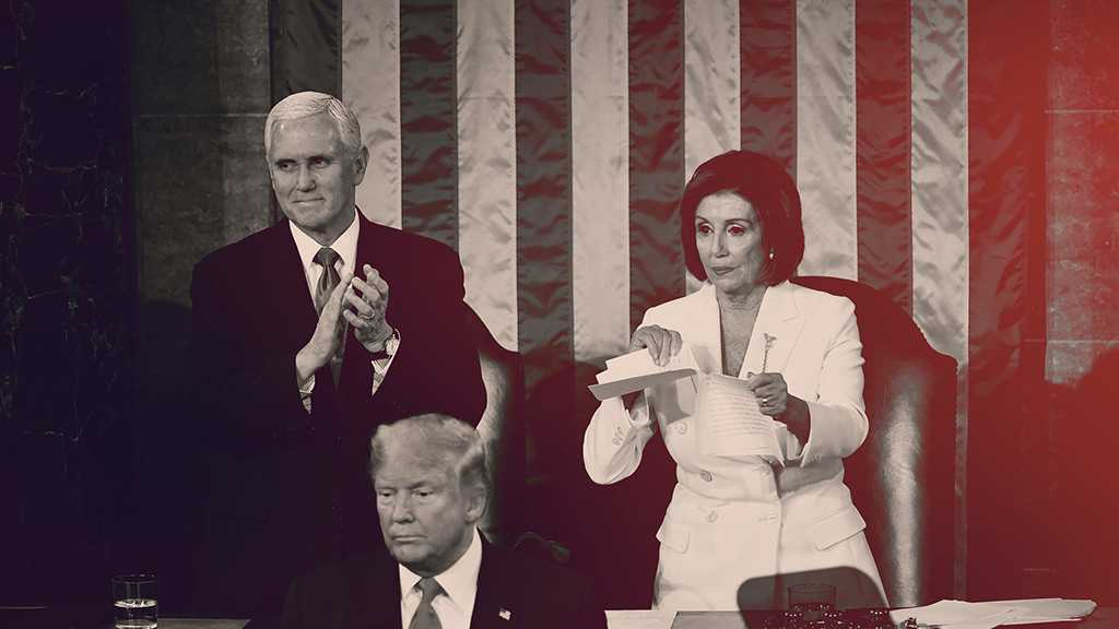 Pelosi Tears Up Trump's State of the Union Speech