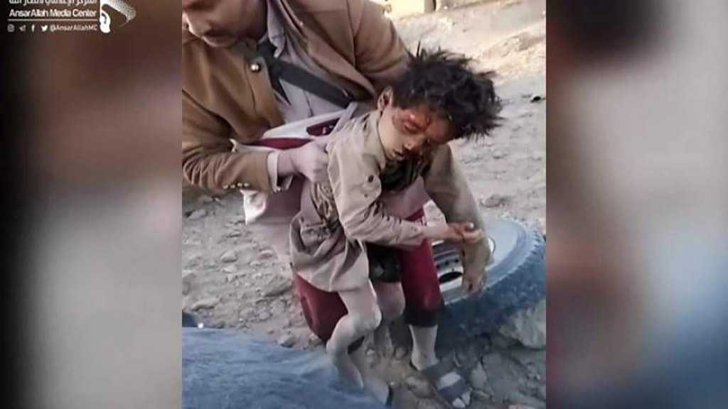 Toll of Saudi Massacre in Al-Jawf: 44 Yemeni Children, Among Many Others, Martyred, Injured