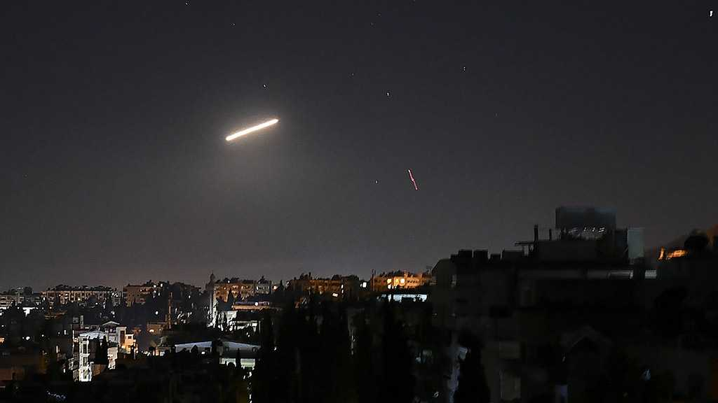 Syrian Air Defenses Intercept 'Israeli' Missiles over Homs