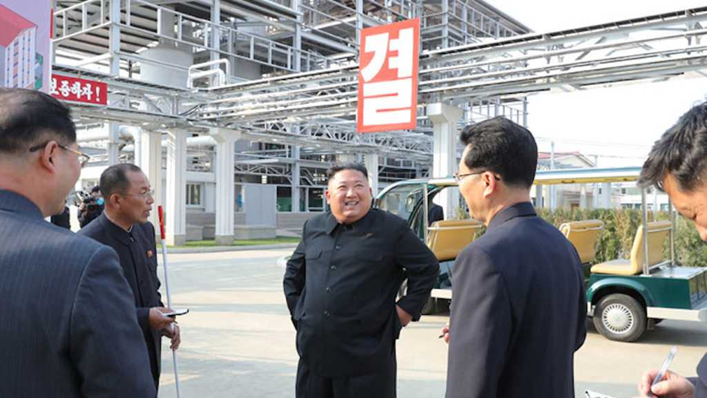 Kim Jong-Un Makes First Public Appearance after Death Rumors
