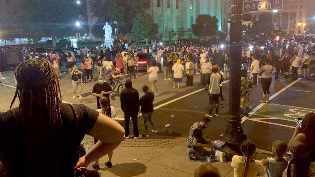 US Protests: Seven Shot at Louisville Rally against Fatal Police Shooting
