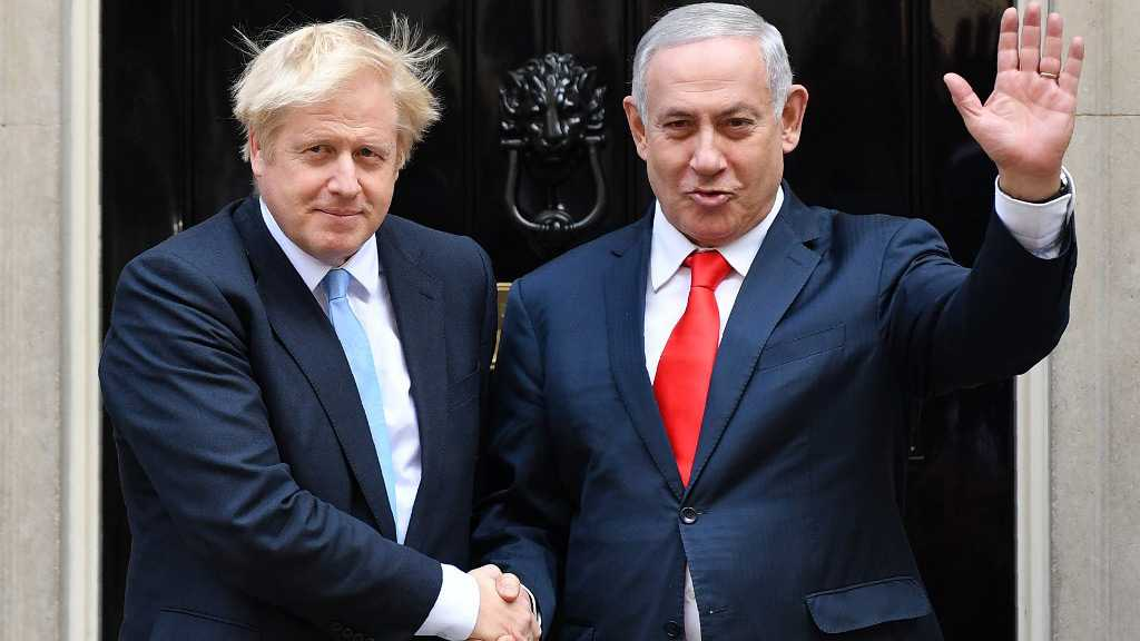 UK PM Johnson Urges Bibi to Halt West Bank Plans