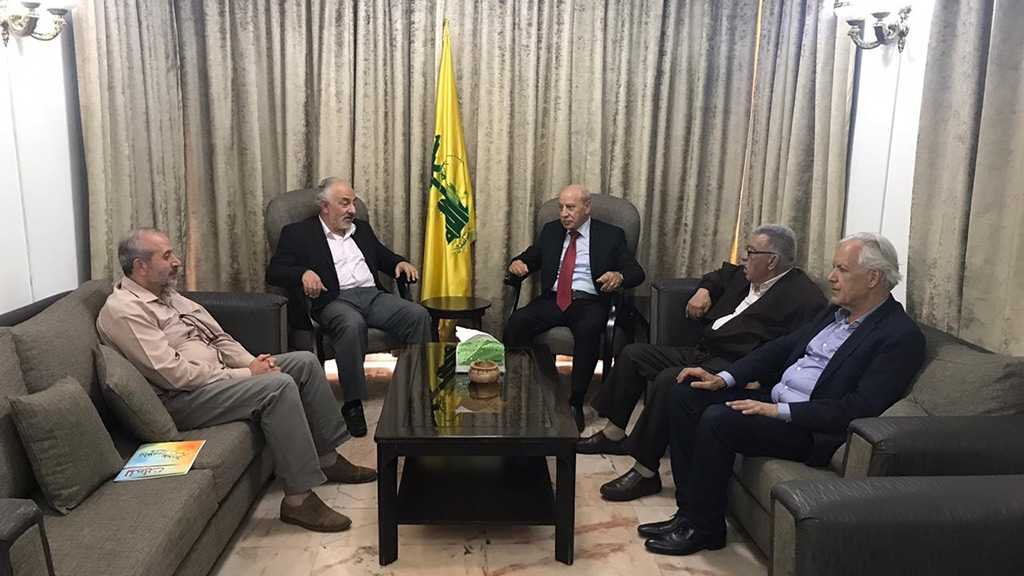 "Hamas Sends Letter to Sayyed Nasrallah Slamming ""Israel's"" Annexation Plans"