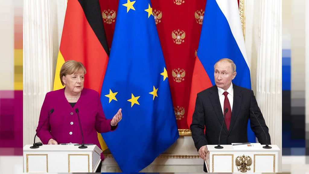 ​​​​​​​Putin, Merkel Call US Sanctions Pressure against Iran 'Pointless'