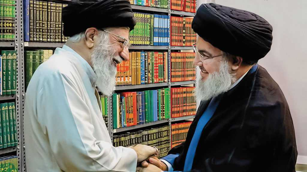Sayyed Nasrallah Thanks Imam Khamenei for His Fatherly Condolences on Sheikh Ahmad Zein Demise