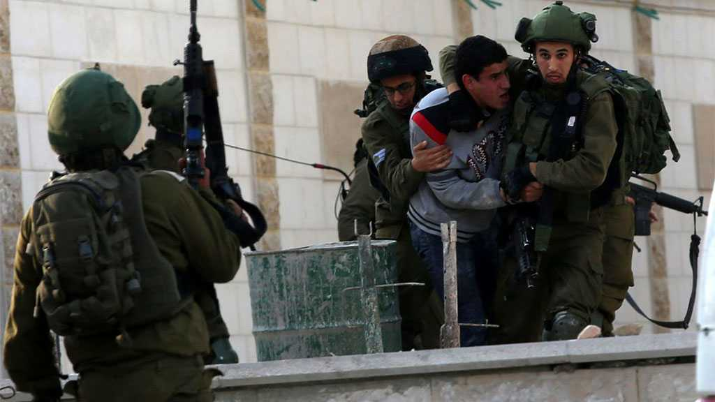 'Israeli' Forces Arrest 6 Palestinians in the West Bank