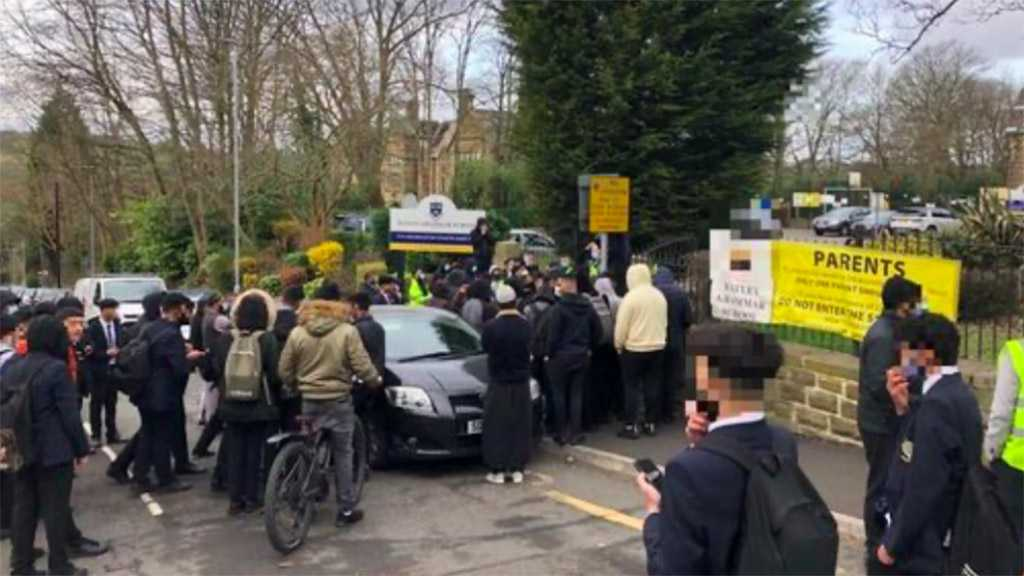 Prophet Muhammad Cartoon Triggers 2nd Day of Protests Outside UK School