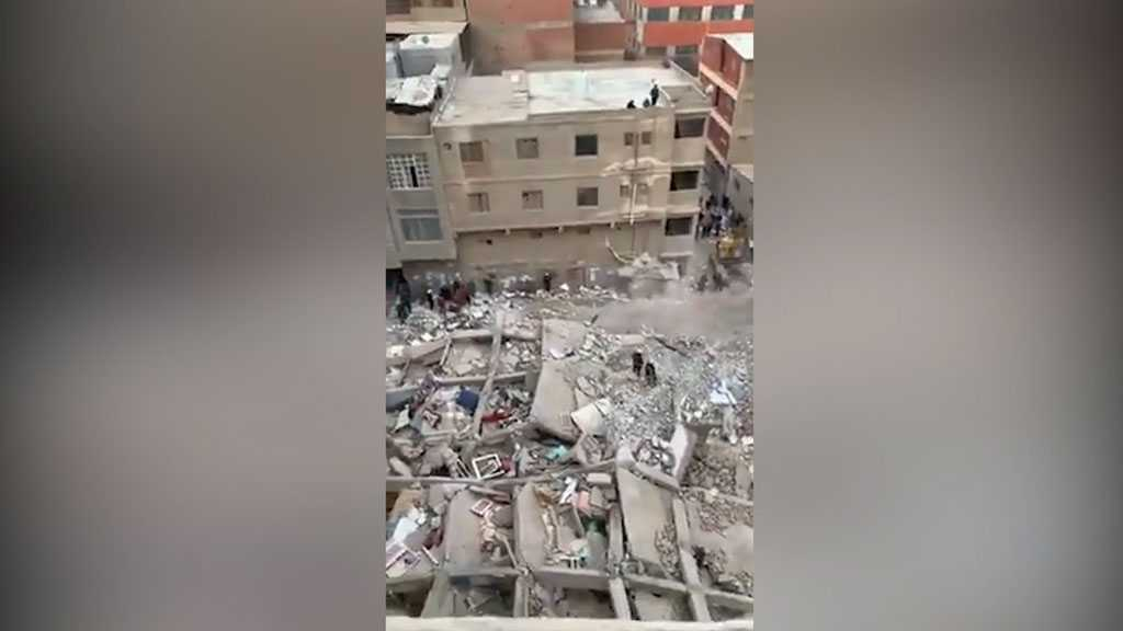 At Least Five Killed, 22 Injured in Egypt Building Collapse