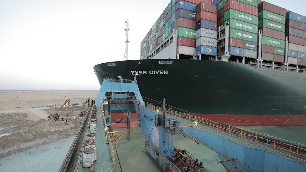 "Giant Cargo Ship ""Ever Given"" Refloated in Suez Canal"
