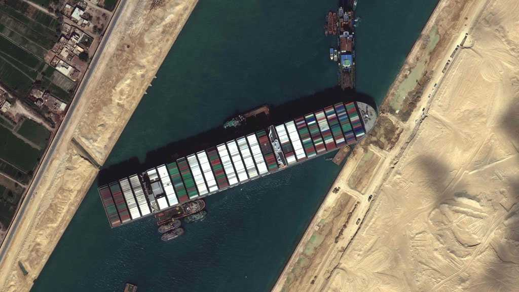 Total Costs of Suez Canal Blockade by Ever Given May Reach $1Bln