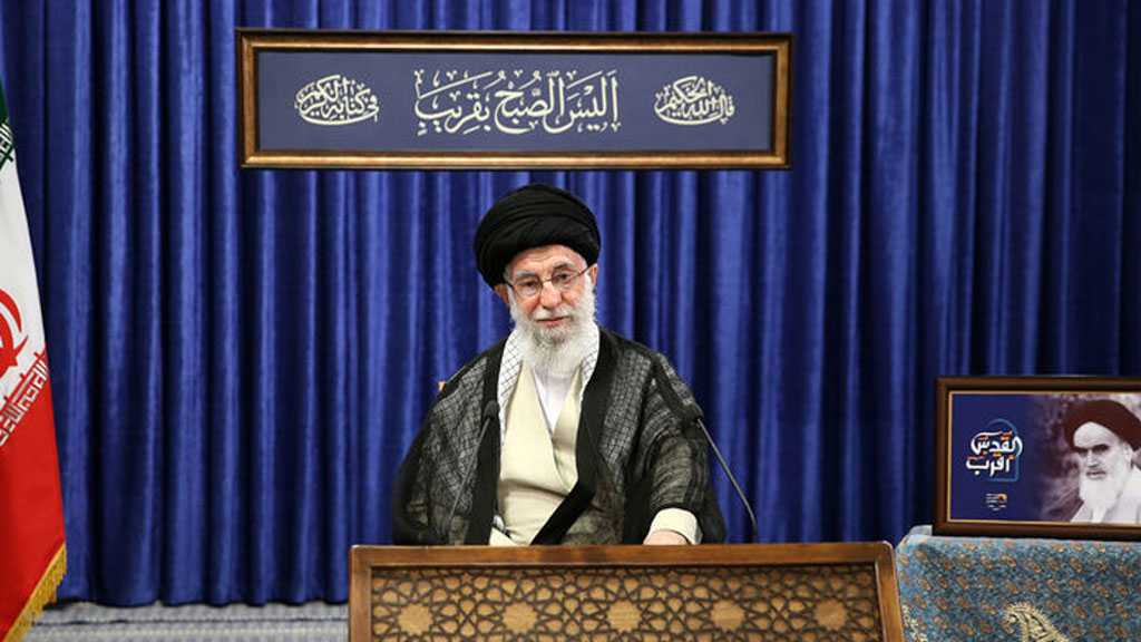 Imam Khamenei Reiterates in Quds Day Speech that 'Israel' Is Weaker than Ever, Moving Towards More Decline