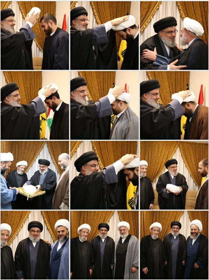 Sayyed Nasrallah Advising and Graduating: Patience and Piety Come First